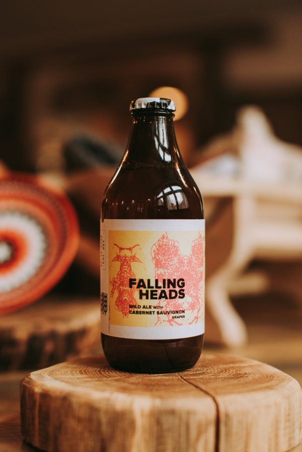 sticla de bere artizanala Falling Heads