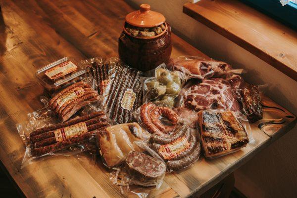 Produse de tip carne, impachetate